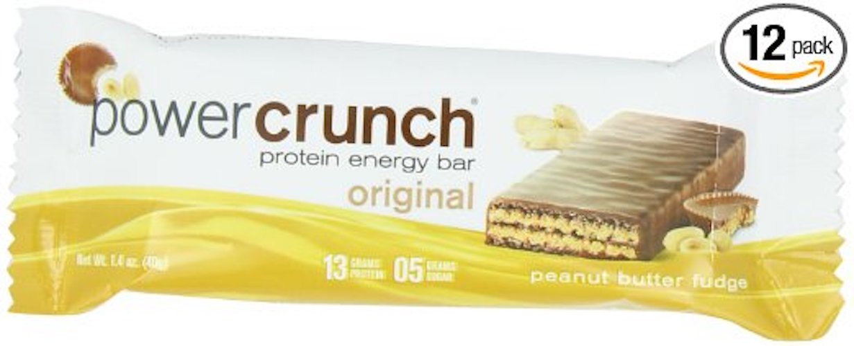 3. Power Crunch Protein Energy, Peanut Butter Fudge Butter Fudge, 1.4-Ounce Bar (Pack of 12)