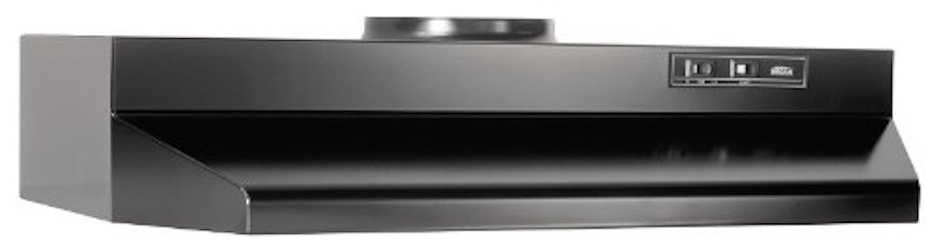 2. Broan 423023 ADA Capable Under-Cabinet Range Hood, 190 CFM 30-Inch, Black