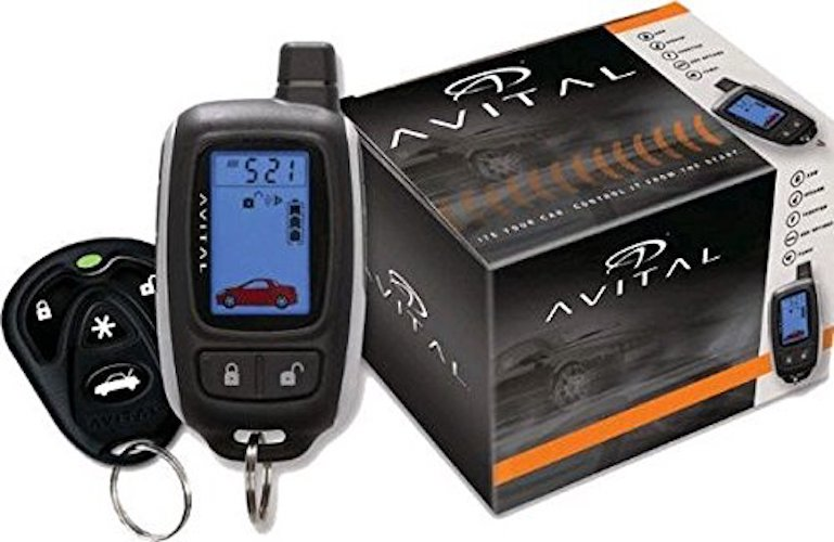 Best Car Alarms: 6. AVITAL Remote Start System