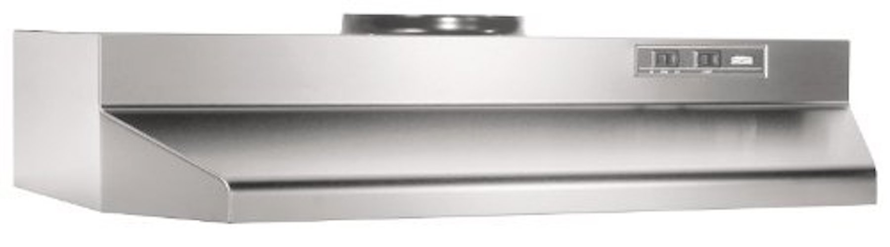 Broan 423604 ADA Capable Under Cabinet Range Hood, 190 CFM 36 Inch, Stainless  Steel