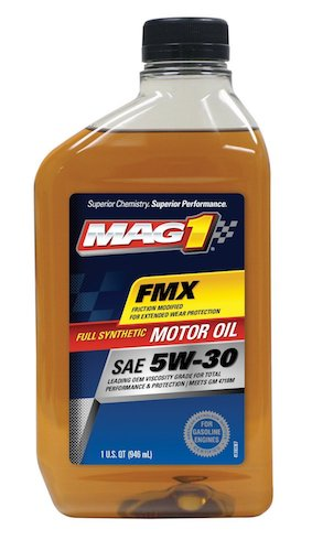 9. MAG1 61790-pk6 Full Synthetic 5W-30 SM Motor Oil - 32 oz., (Pack of 6)