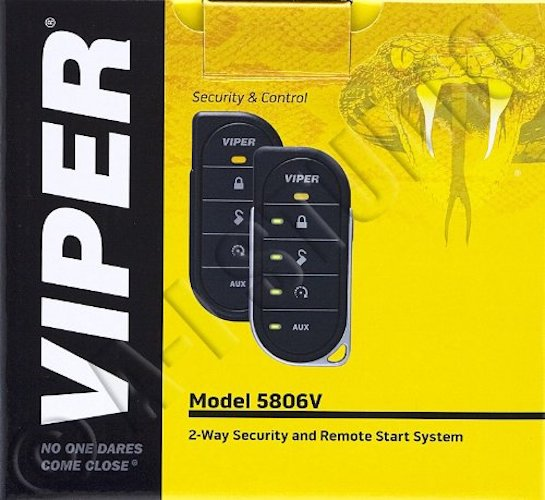 Best Car Alarms: 7. Viper Security System