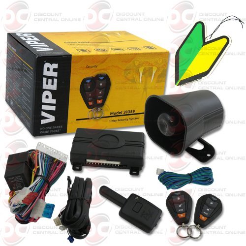 Best Car Alarms: 3. Viper One-Way Keyless Entry