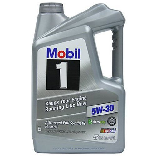 1. Mobil 1 120764 Synthetic Motor Oil 5W-30, 5 Quart