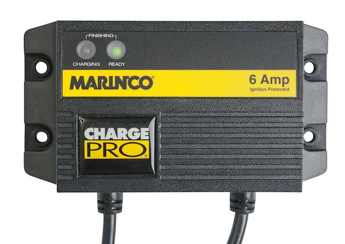 3. Marinco Charge Pro Waterproof Battery Chargers