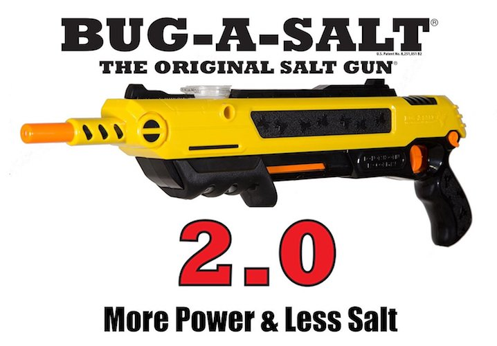 Best Fly Killers For Indoors And Outdoors: 3. Bug-A-Salt 2.0 Insect Eradication Gun
