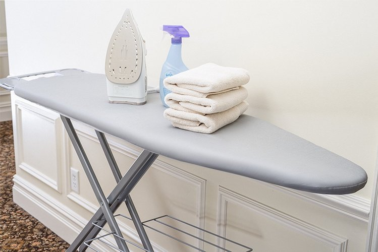 1. Epica Silicone Coated Ironing Board Cover Resists Scorching and Staining - 15