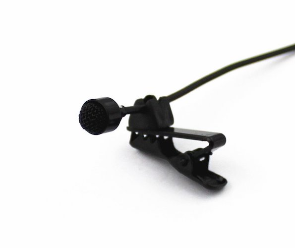4. PRO JK MIC-J 044 Lavalier Lapel External Microphone Designed for ZOOM TASCAM Recording Devices Standard Stereo 35MM Connector