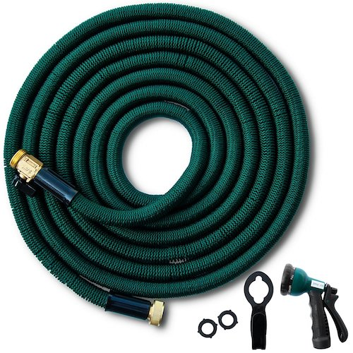 15. Josy&co. 50 ft Expandable Garden Hose