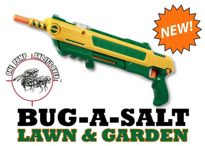 Best Fly Killers For Indoors And Outdoors: 8. Bug-A-Salt Lawn & Garden Edition