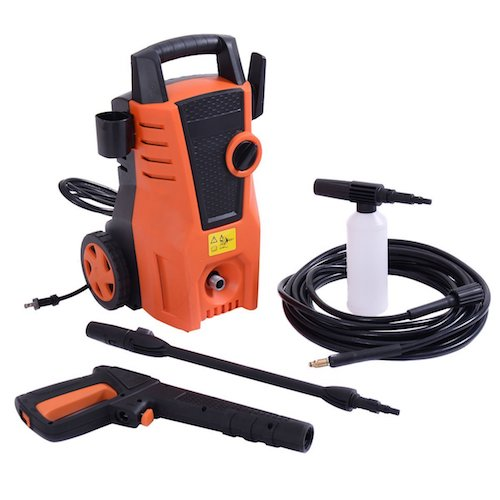 10. Costway 1400PSI Electric High-Pressure Washer