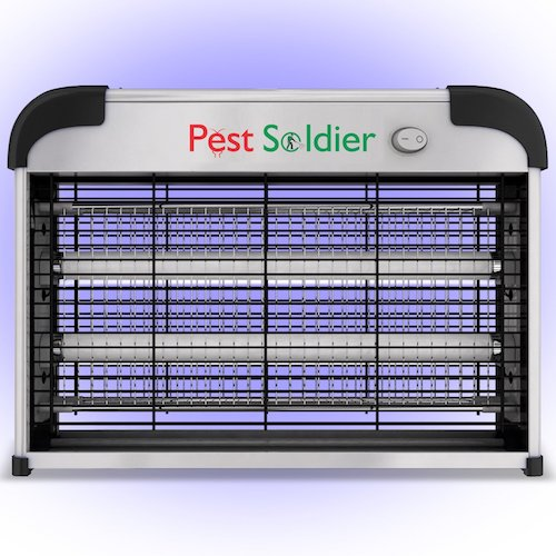 Best Fly Killers For Indoors And Outdoors: 10. Powerful 20W Electronic Indoor Insect Killer, Bug Zapper, Fly Zapper, Mosquito Killer By Pest Soldier