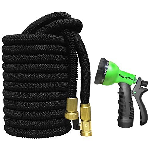 Top 10 best retractable garden hoses in 2018 reviews topbestspec Expandable garden hose 100 ft