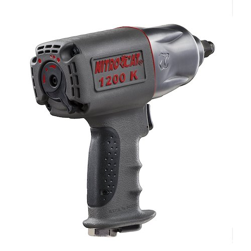 Best Air Impact Wrench For Home Use5. NitroCat ½ -Inch Twin Hammer Air Impact Wrench