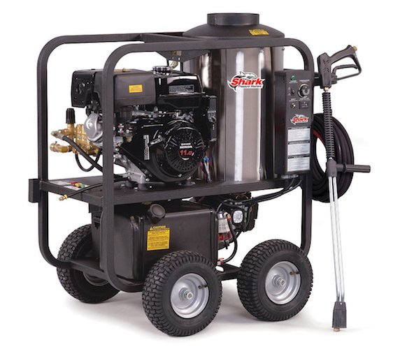 2. Shark SGP-353037 3,000 PSI 3.5 GPM Honda Gas Powered Hot Water Commercial Series Pressure Washer