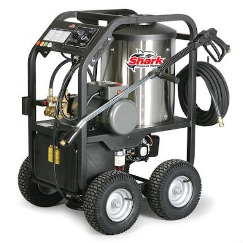 4. Shark STP-352007A 2,000 PSI 3.5 GPM 230 Volt Electric Hot Water Commercial Series Pressure Washer