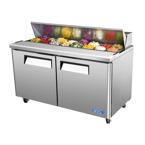 Top 10 Best Mega Top Sandwich Prep Tables in 2019 Reviews
