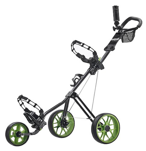 7: CaddyTek SuperLite Deluxe Golf Push Cart