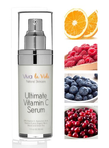 6.VLV Natural Skin Care Products - Best Vitamin C Serum with Hyaluronic Acid, Organic, Anti Wrinkle, Anti Aging, Brightening Cream for Face