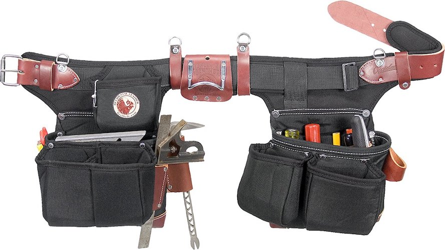 Most Comfortable Tool Belts: 8. Occidental Leather 9515 Adjust-to-Fit OxyLight Framer
