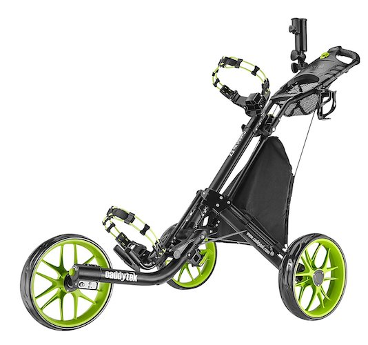8: CaddyTek EZ-Fold 3 Wheel Golf Push Cart