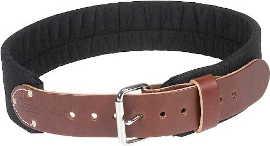 Most Comfortable Tool Belts: 5. Occidental Leather 8003 M 3-Inch Thick Leather and Nylon Tool Belt, Medium