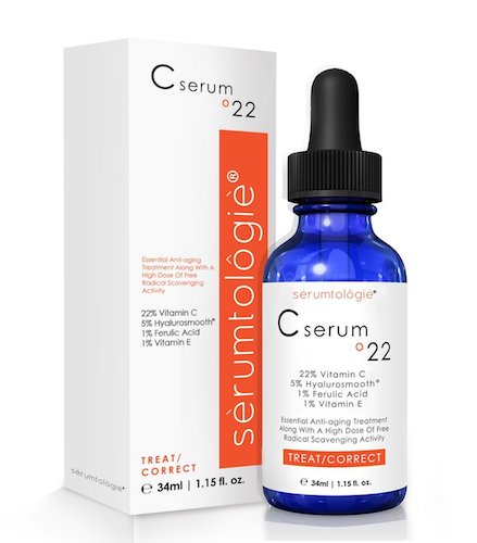 10. Vitamin C serum 22 by serumtologie® Anti Aging - 1.15 oz