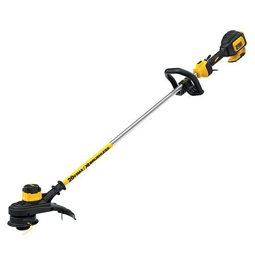 3. DEWALT DCST920B 20V Lithium Ion XR Brushless String Trimmer