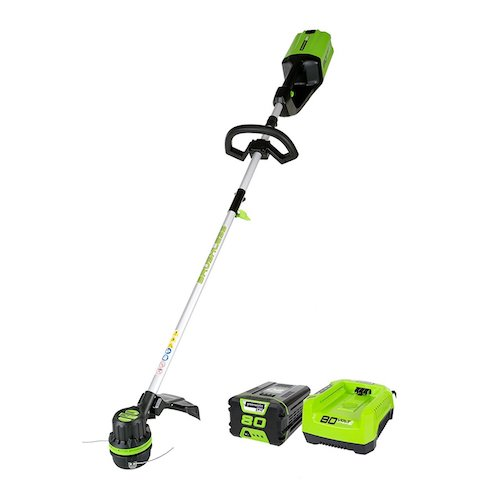 9. GreenWorks Pro ST80L210 80V 16-Inch Cordless String Trimmer