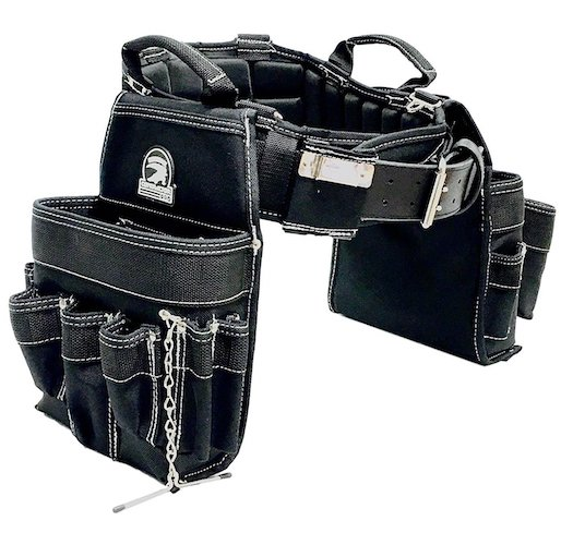 Most Comfortable Tool Belts: 7. TradeGear Large Electrician's Combo Belt & Bags, Maximum Comfort, Durable & Heavy-Duty (35-39