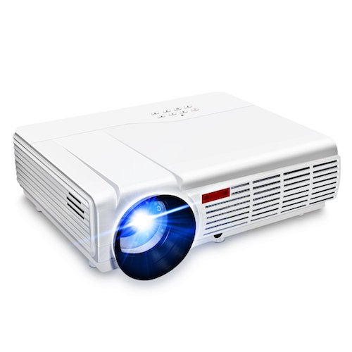 6. Wifi Projector, ELEGIANT 3000 Lumens Long life LED Full HD Home Cinema Projector