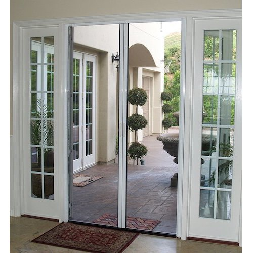 Top 10 best retractable screen doors in 2018 reviews for Retractable double screen door