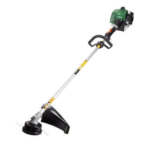 7. Hitachi CG23ECPSL 22.5cc 2-Cycle Gas Powered Solid Steel Drive Shaft String Trimmer