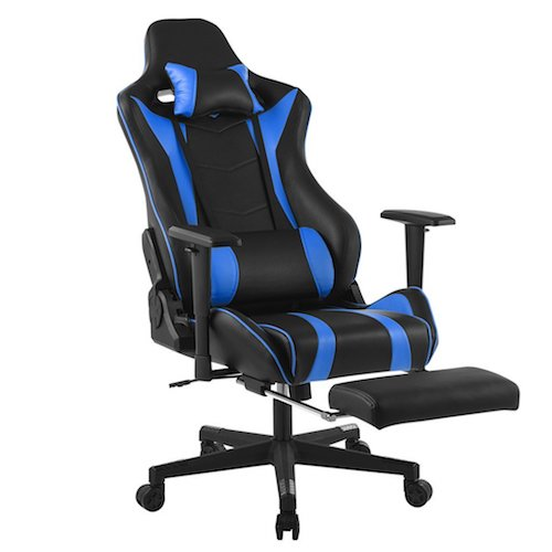 9. LANGRIA Executive High-Back PU Leather Computer Gaming Chair