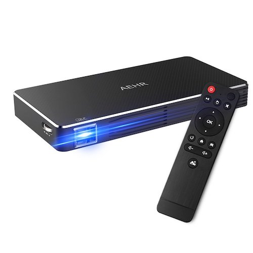 2. AEHR mini projector pico video projector for home theater family cinema