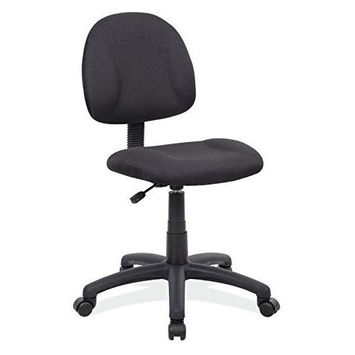 10. Boss Office Products B315-BK Delux fabric chair