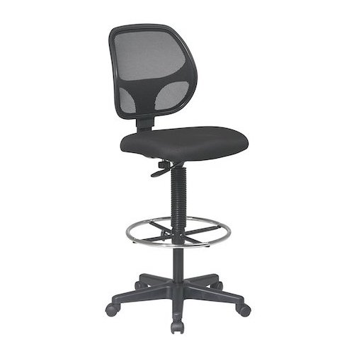 9: Office Star Deluxe Mesh Back Drafting Chair with 20
