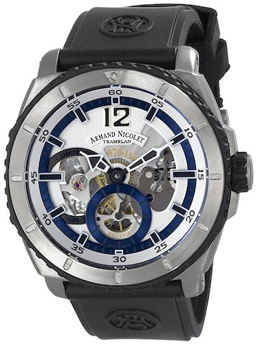 9. Armand Nicolet Men's T619A-AG-G9610 L09 Watch