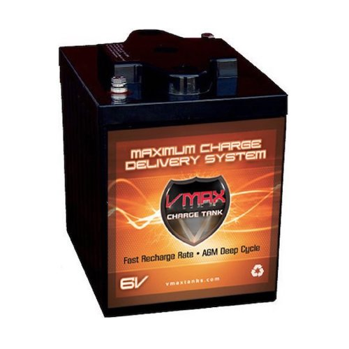 Top 10 Best 6v Deep Cycle Batteries in 2018 Reviews