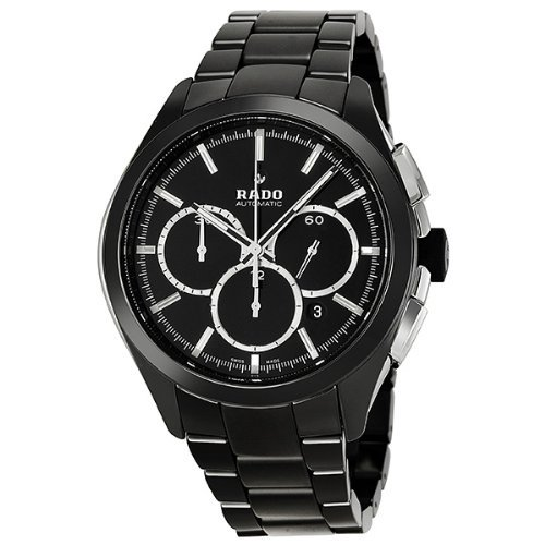 6. Rado Hyperchrome XXL Black Dial Ceramic Chrono Automatic Men's Watch R32275152