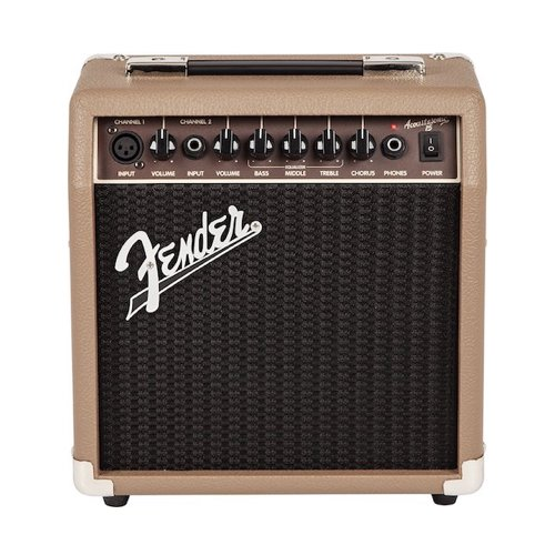 1. Fender Acoustasonic 15 – 15 Watt Acoustic Guitar Amplifier