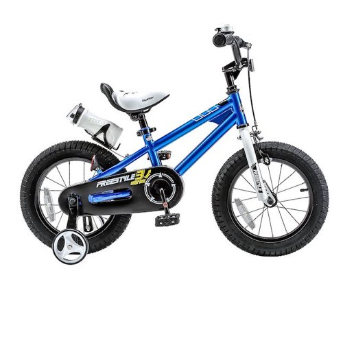 1. RoyalBaby BMX Freestyle Kids Bike, Boy's Bikes and Girl's Bikes with training wheels, 12 inch, 14 inch, 16 inch, 18 inch, Gifts for children