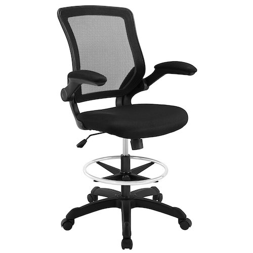6: Modway Veer Drafting Stool-Chair