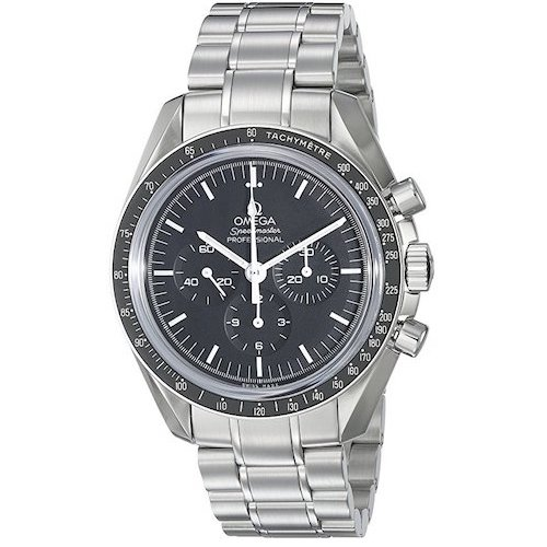 2. Omega Speedmaster Racing Automatic Chronograph Black Dial Stainless Steel Men's Watch