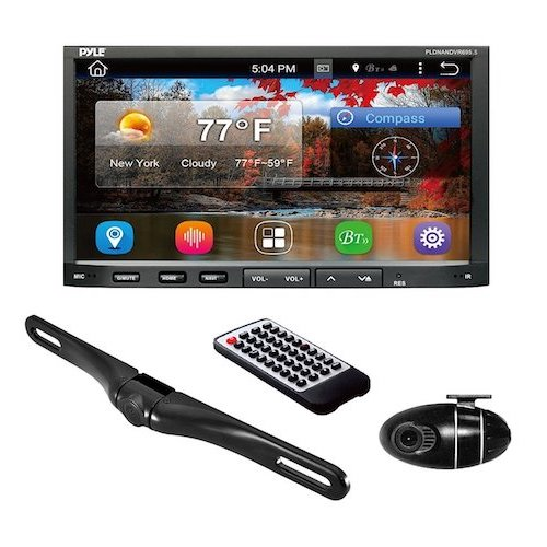 5. Pyle Premium 7In Double-DIN Android Car Stereo Receiver