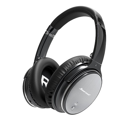 7. Hiearcool L1 Active Noise Canceling Bluetooth Headphones
