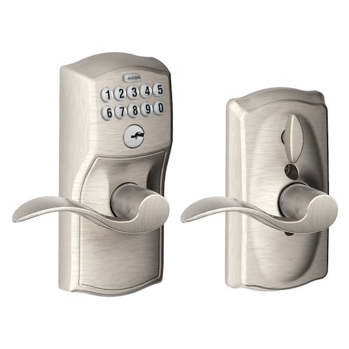 1. Schlage Lock Company, Schlage FE595VCAM619ACC Camelot Keypad Entry