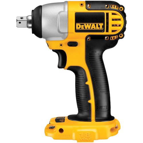 . DEWALT Bare-Tool DC820B 1/2-Inch 18-Volt Cordless Impact Wrench (Tool Only, No Battery)