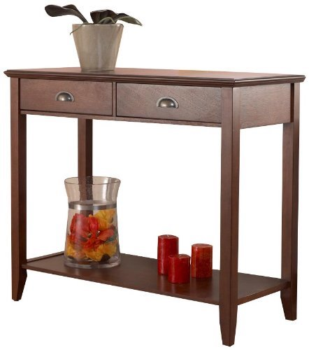 3. Foremost CSH10222-FMCD Sheridan Console Table, Walnut