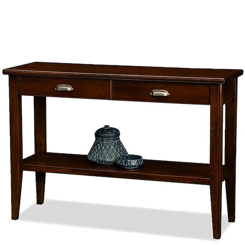 8. Leick Laurent 2-Drawer Hall Console Table